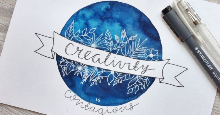 My 10 favorite watercolor & art Instagram accounts #positivevibes