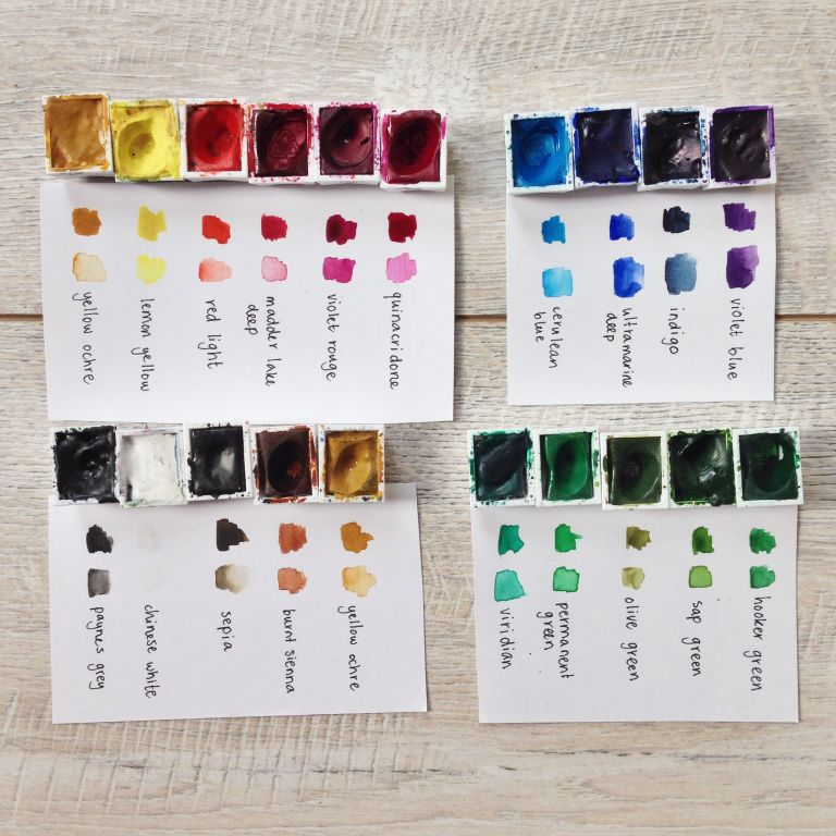 All about my paints | Van Gogh and Winsor & Newton